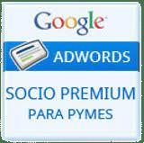 Logo Google socio premium para PYMES
